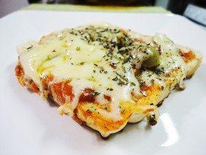 Pizza Marguerita de pão