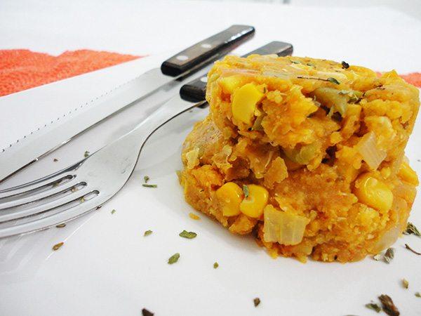Cuscuz de legumes vegano